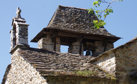 Clocher de la chapelle de Villelongue